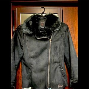 Suede Guess Jacket Size 12